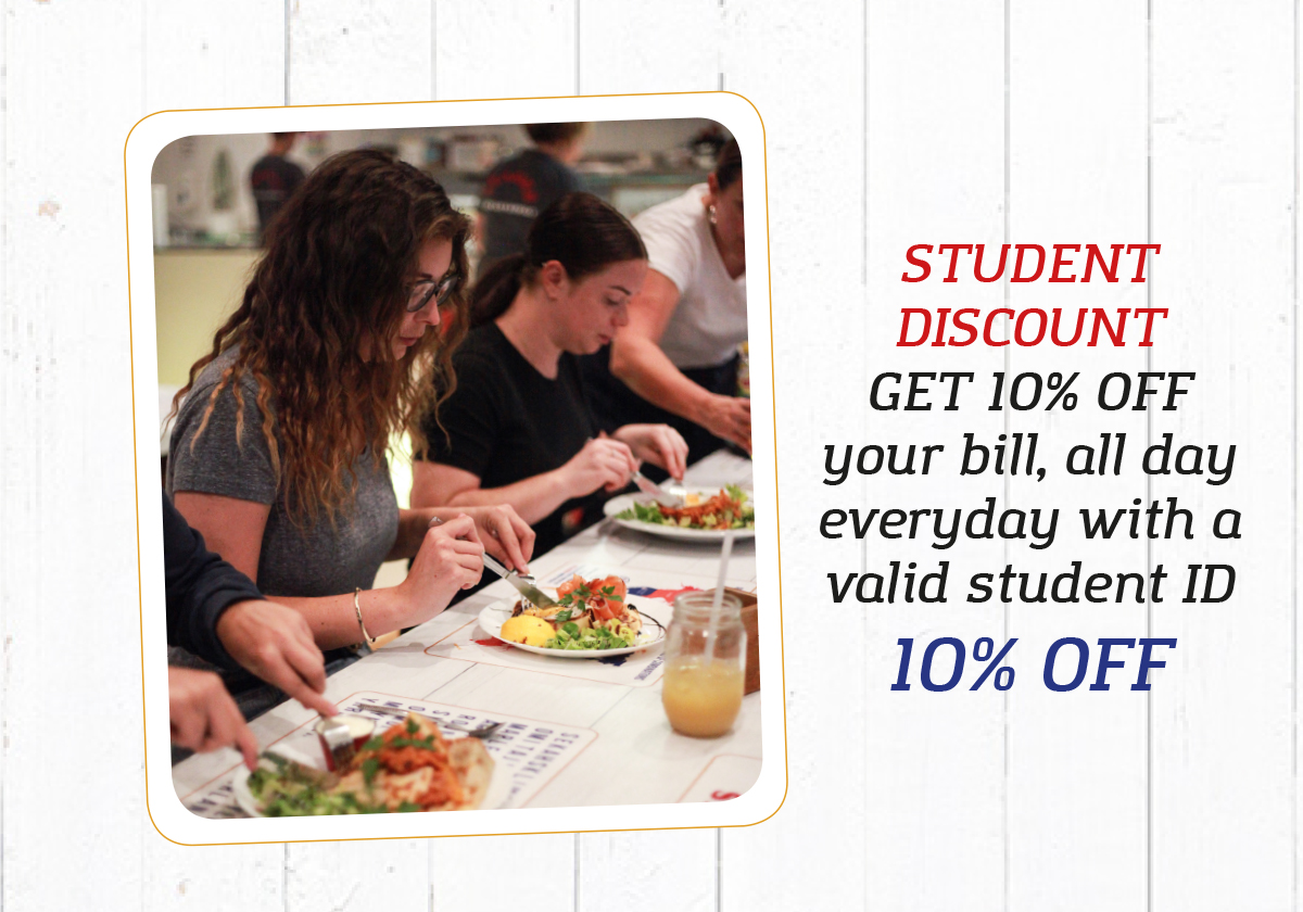 Student Discount Deal Cover